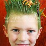 Grass costume