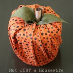 EASY No Sew Pumpkin