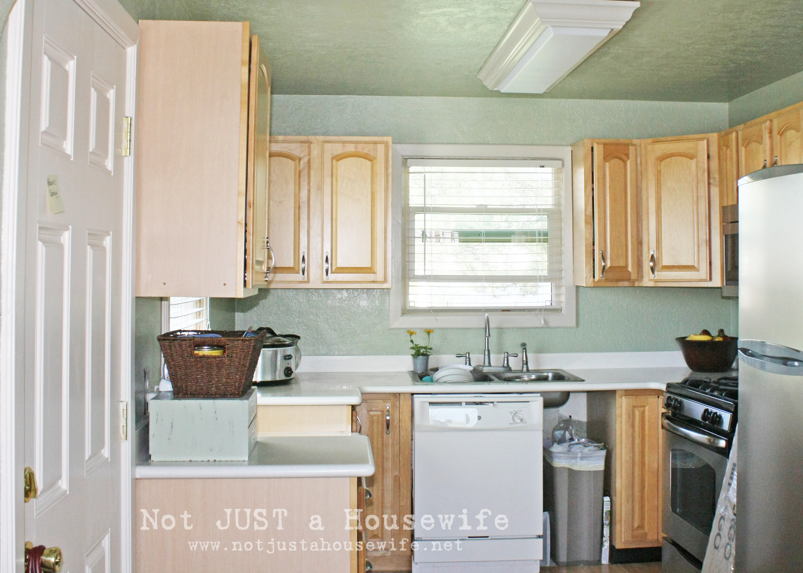 Painted Cabinets!!!! | Not JUST A Housewife