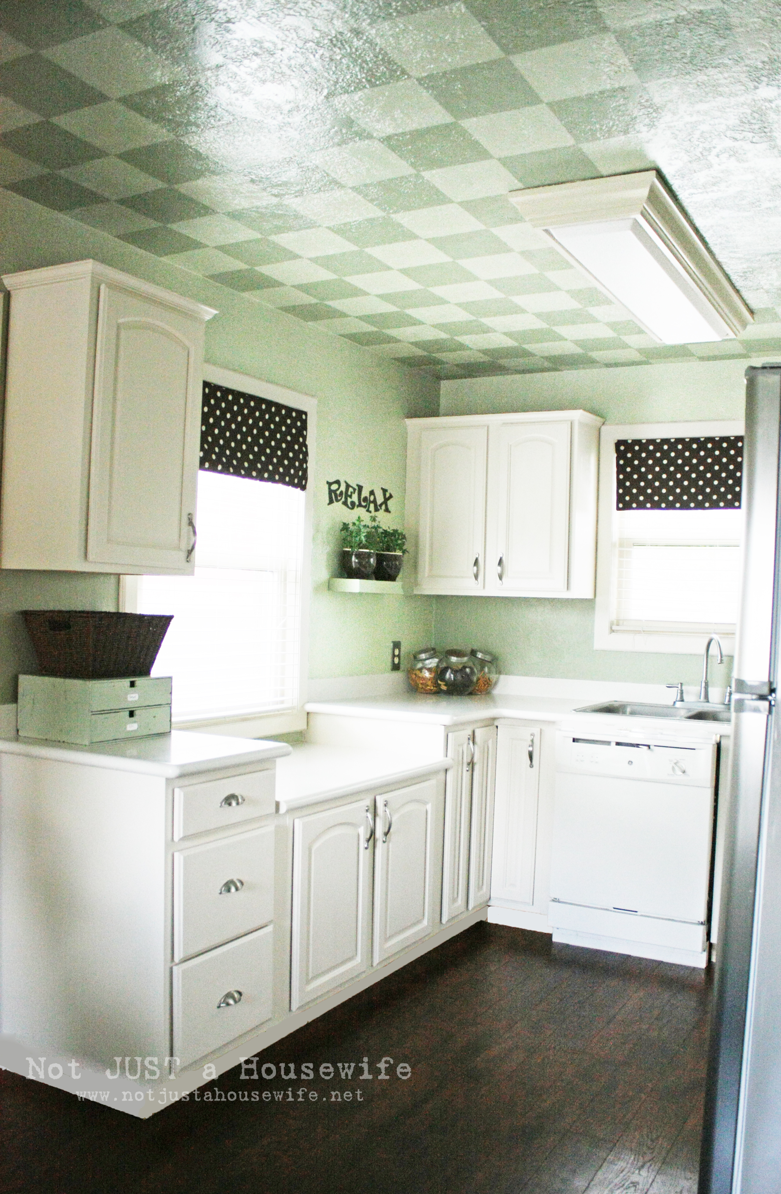 French country kitchen not just a housewife for Kitchen cabinets not wood