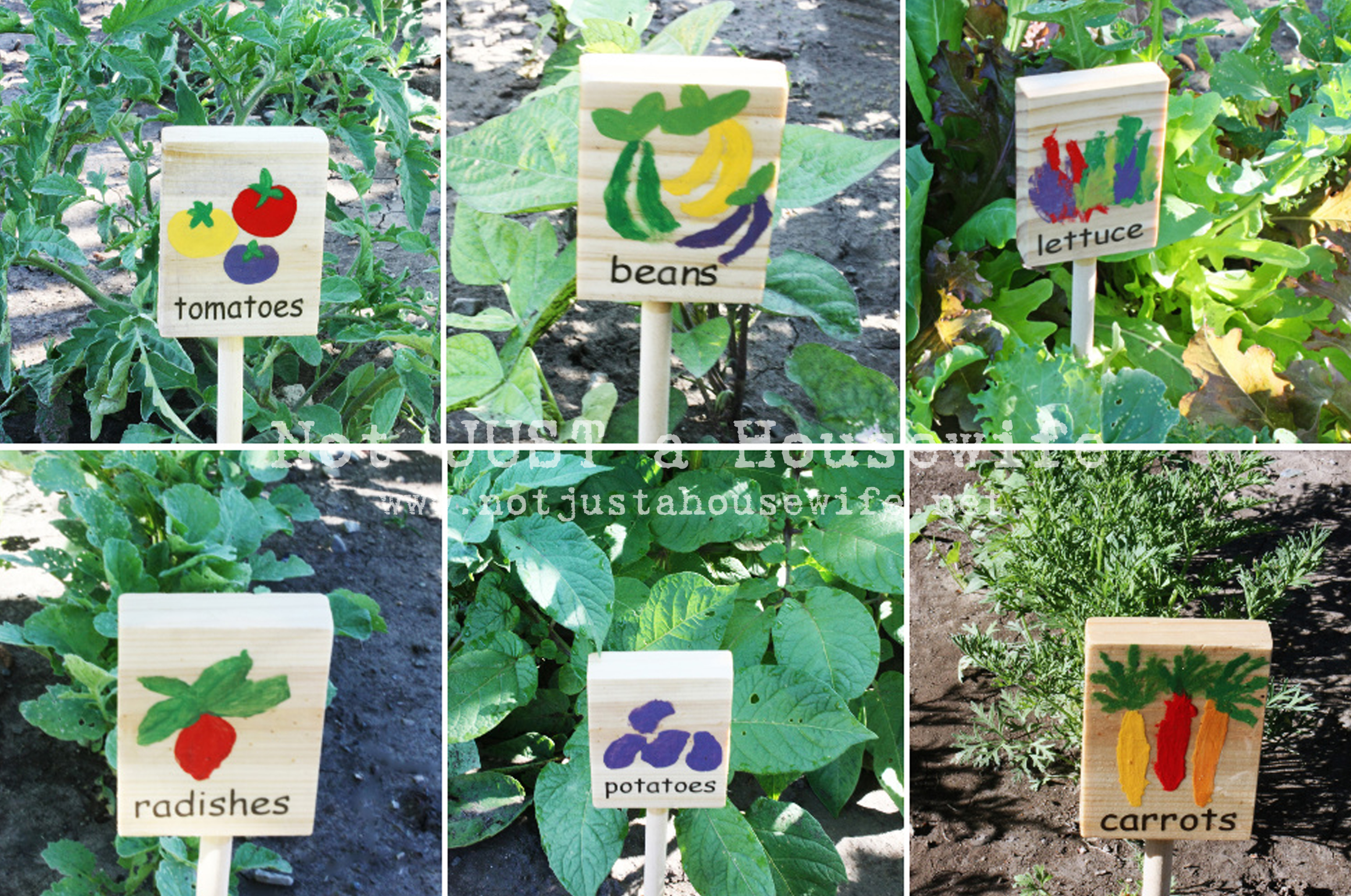 Garden Signs Not Just A Housewife