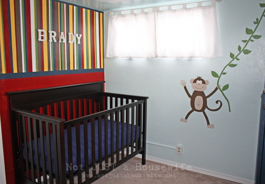 monkey nursery 1024x714 Kids Bedroom