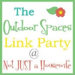 Outdoor Spaces Linky Party!!!