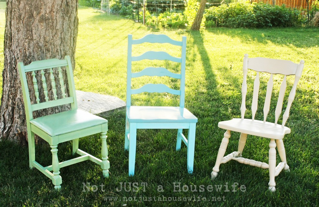 painted chairs edited 1 1024x666 Ideas for Outdoor Decorating