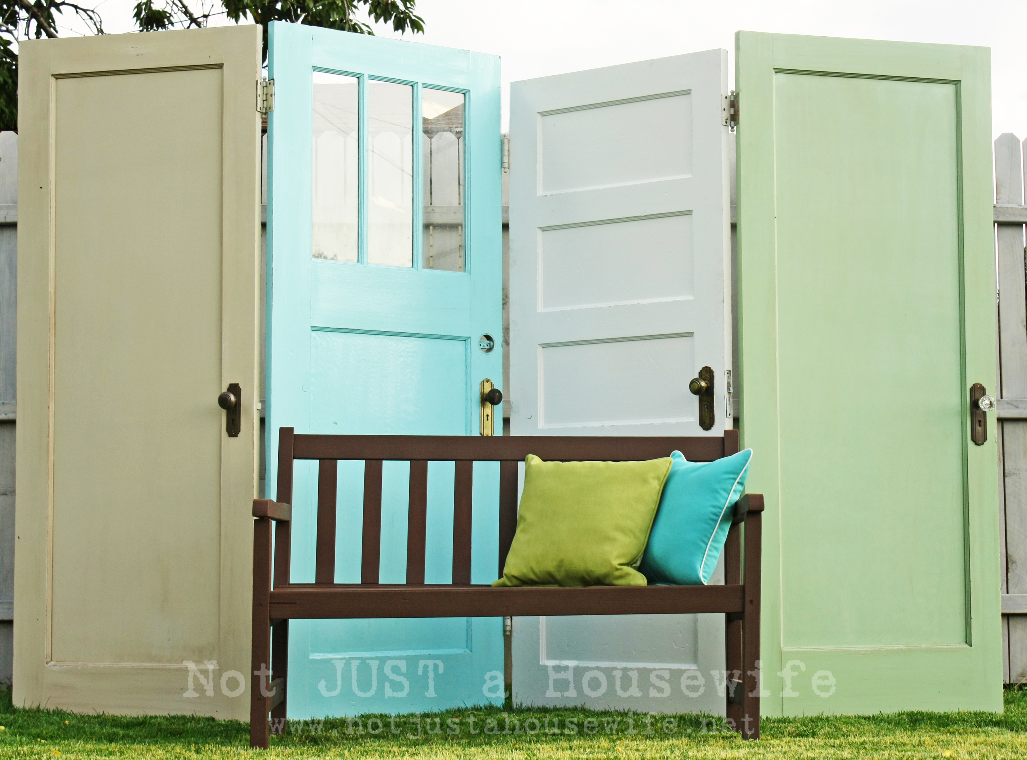 Old Door Decorating Ideas For Outdoor Decorating Stacy Risenmay