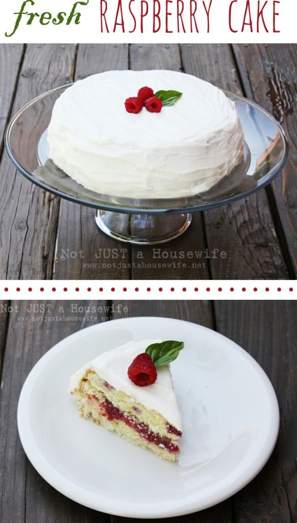 raspberry cake recipe1 583x1024 Raspberry Cake