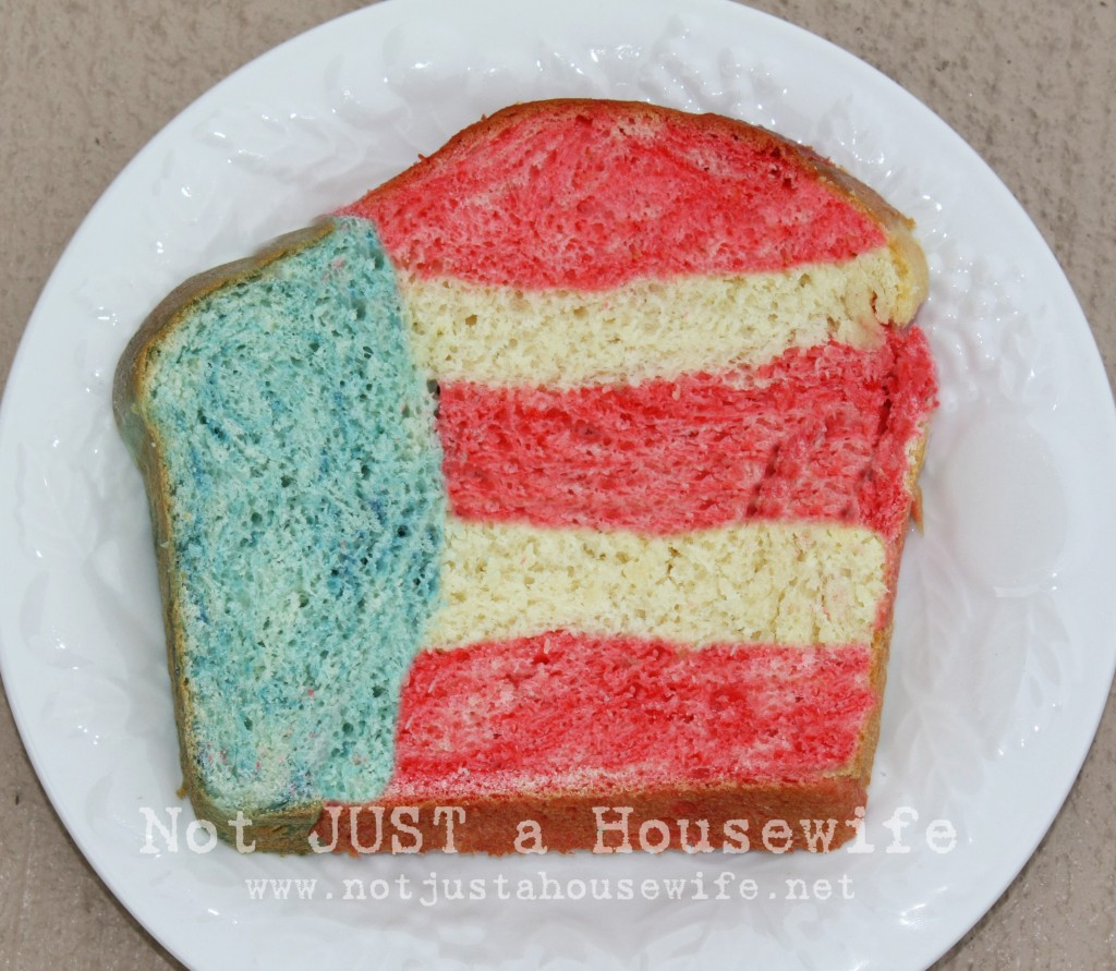 red white and blue bread 1024x891 4th of July Bread!!!