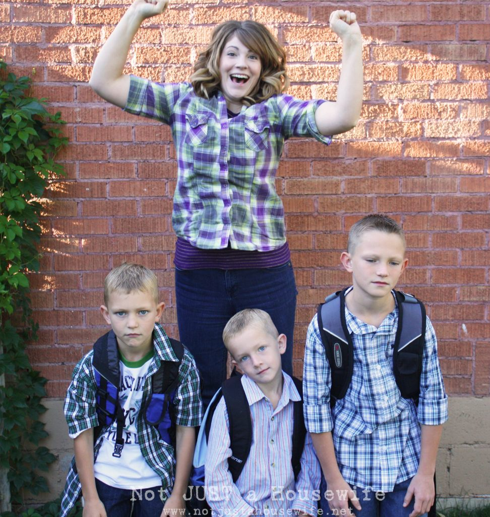 1st day of school 972x1024 Mixed Emotions