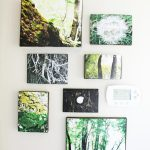 Wood Block Picture Collage