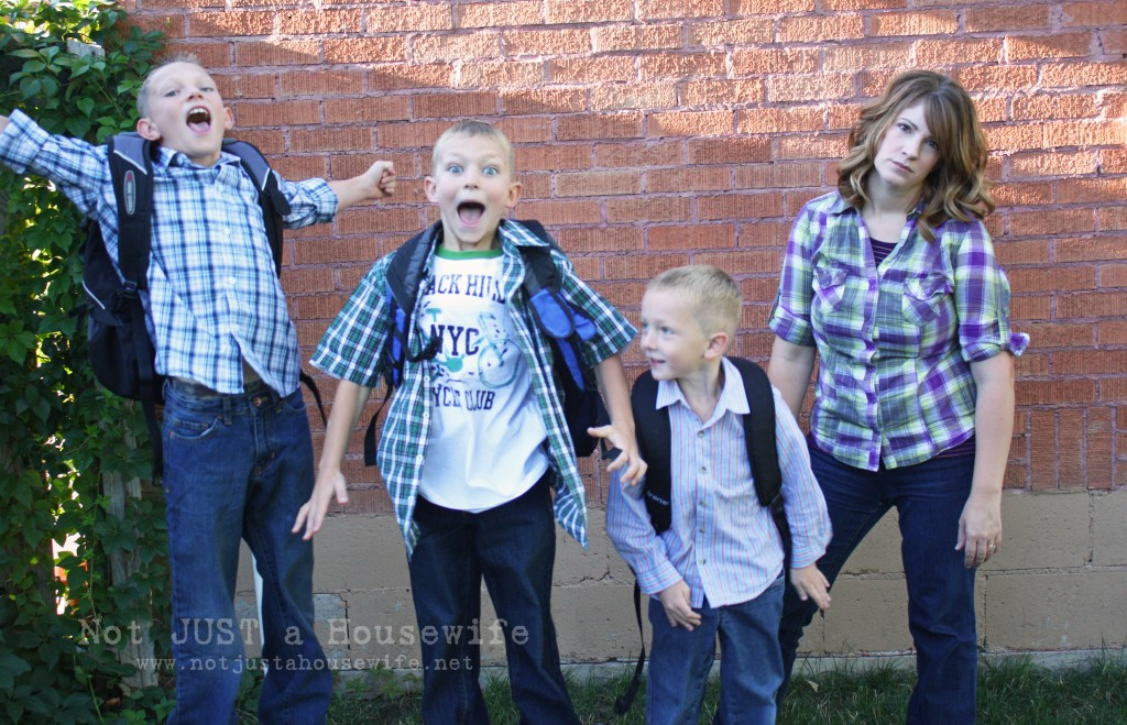 first day school picture 1024x659 Mixed Emotions