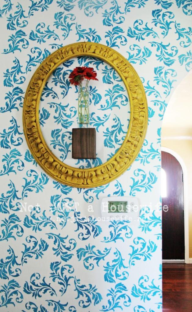 hallway 630x1024 My Hallway Reveal!!!