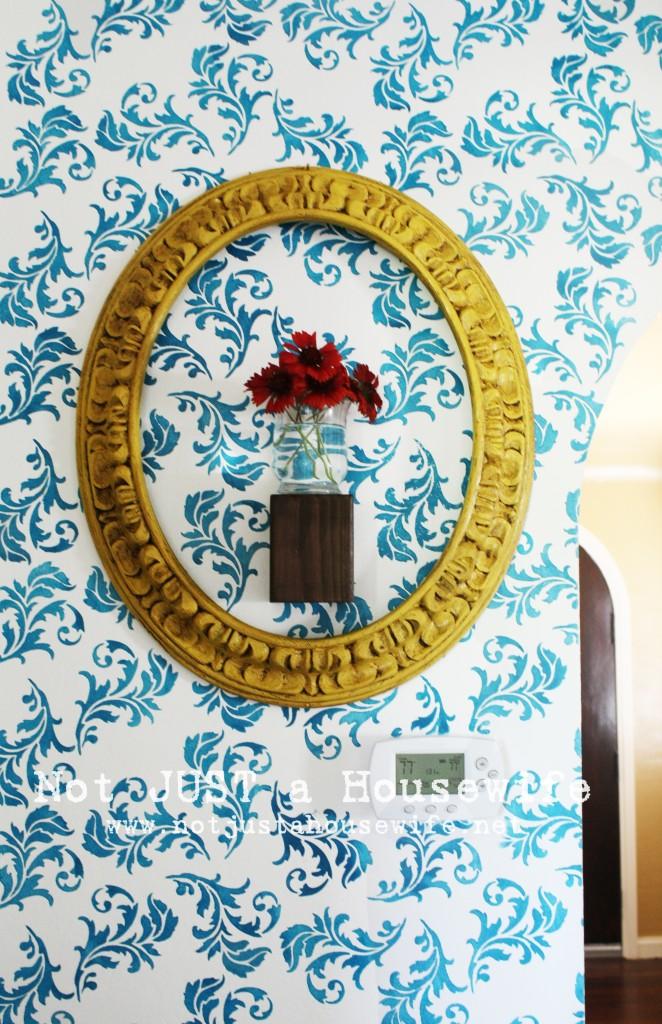 vase frame 662x1024 My Hallway Reveal!!!