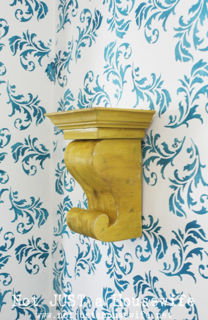 yellow corbel1 667x1024 My Hallway Reveal!!!