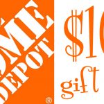 Home Depot Gift Card Giveaway!!!