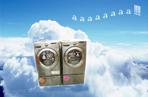 LG waher dryer cloud What do Home Depot and Kermit the Frog have in Common???
