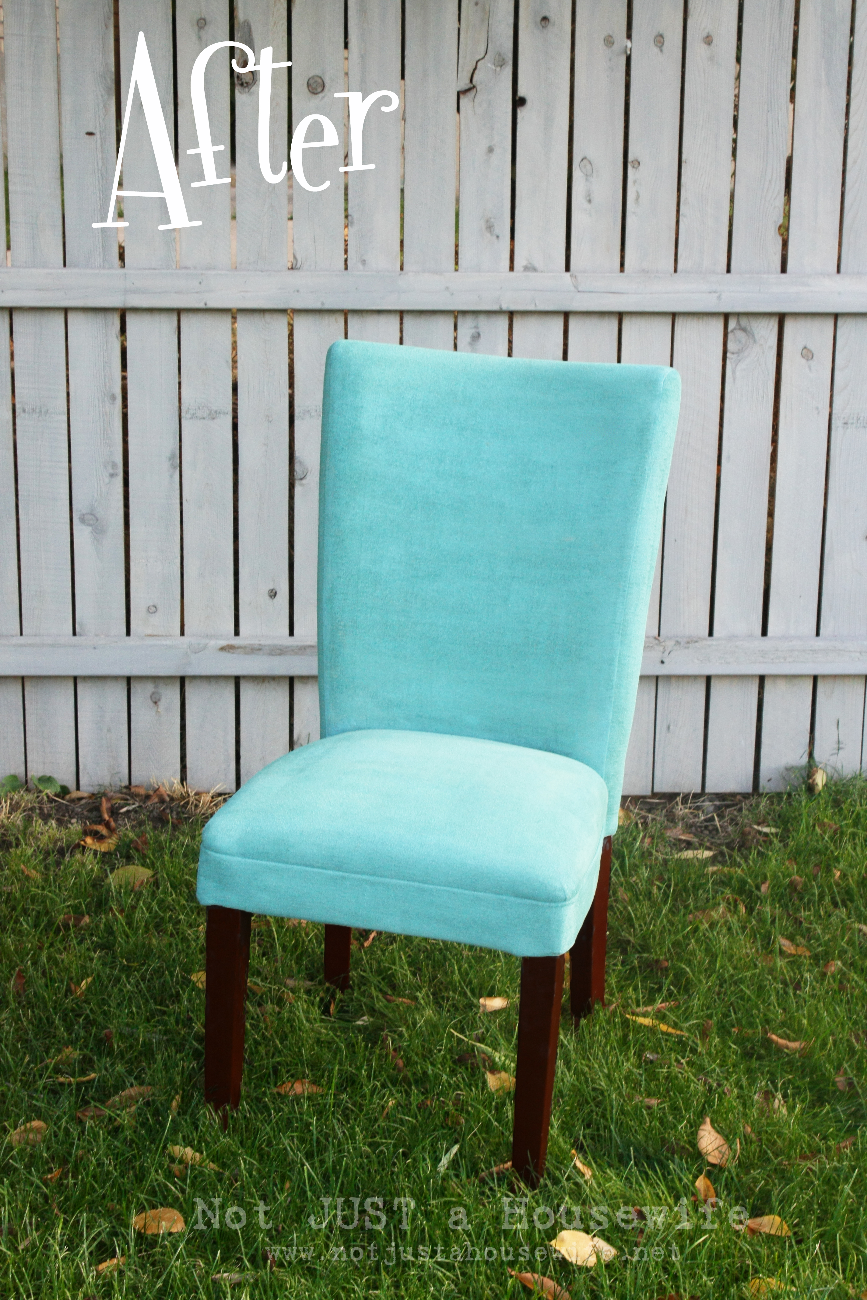 Diy chair upholstery - Just