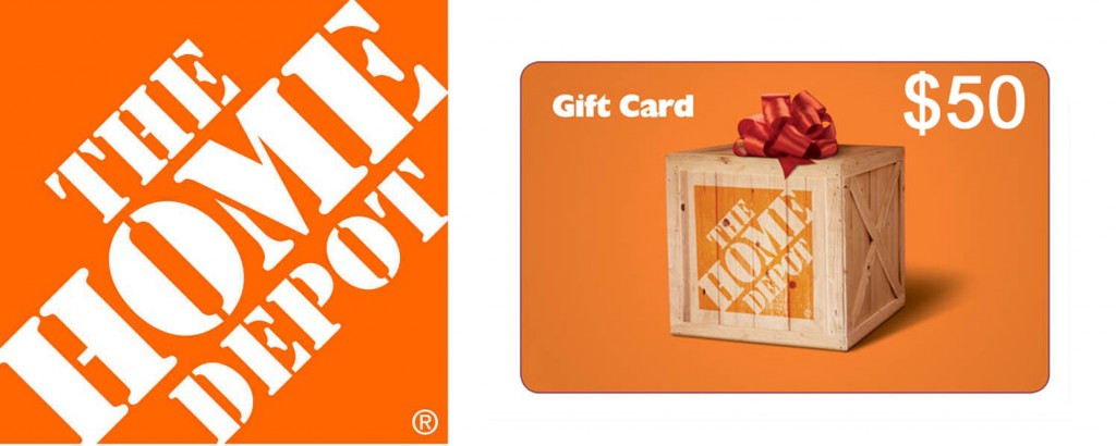Home Depot gift card 1024x410 Best DIY Project of 2011 CONTEST