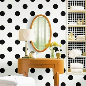 black and white polka dot background Lets chat about Polka Dots