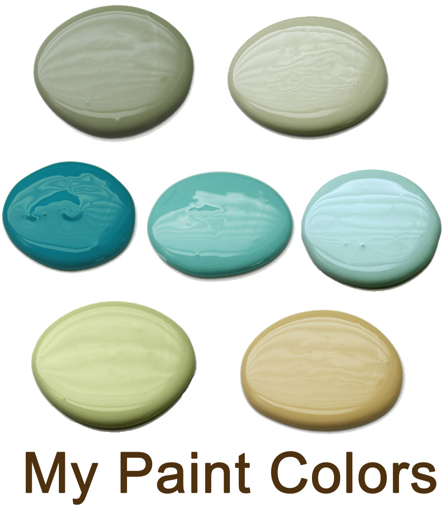 my paint colors1 Paint Colors