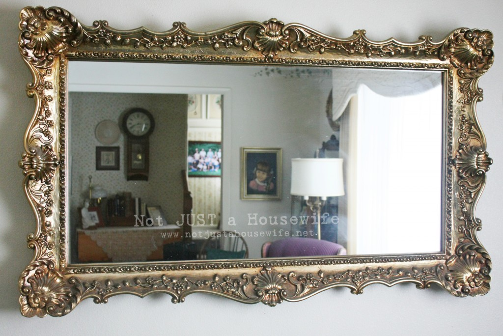 antique mirror brass 1024x684 Loving your home
