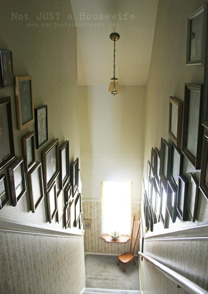 stairway picture collage 726x1024 Loving your home