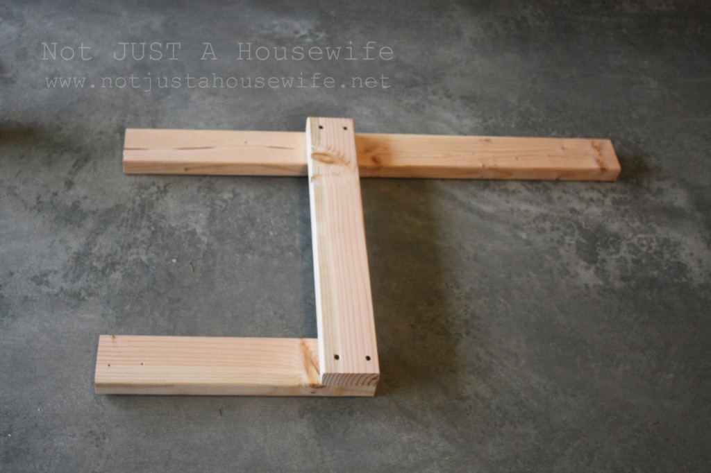 building bench legs