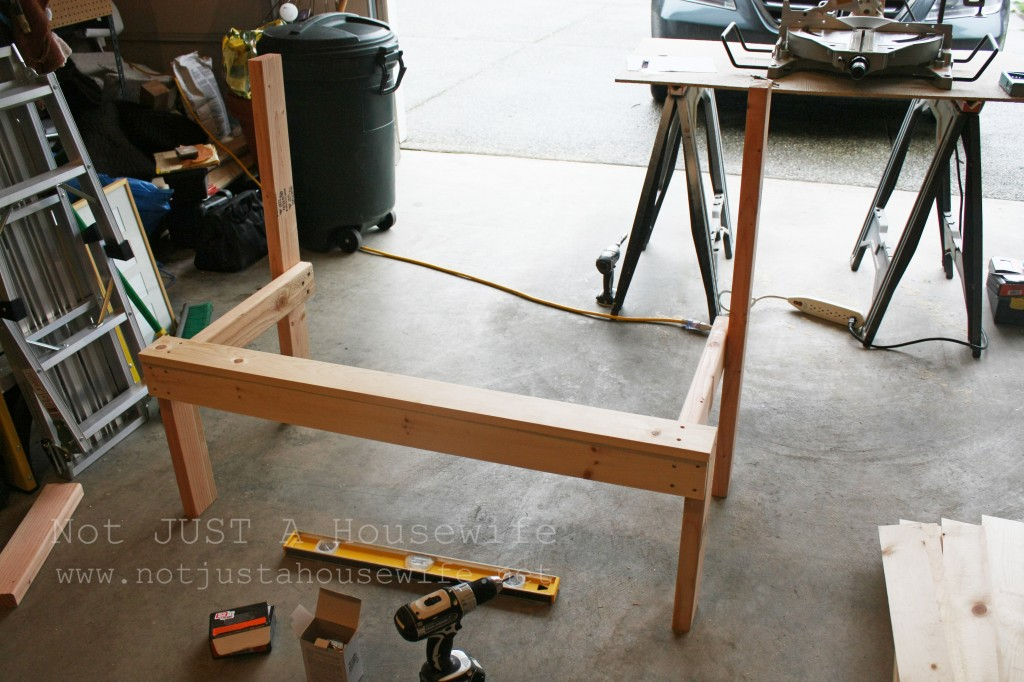 building a bench