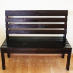 Decorating someone else's house: Part 3 (building an entryway bench)
