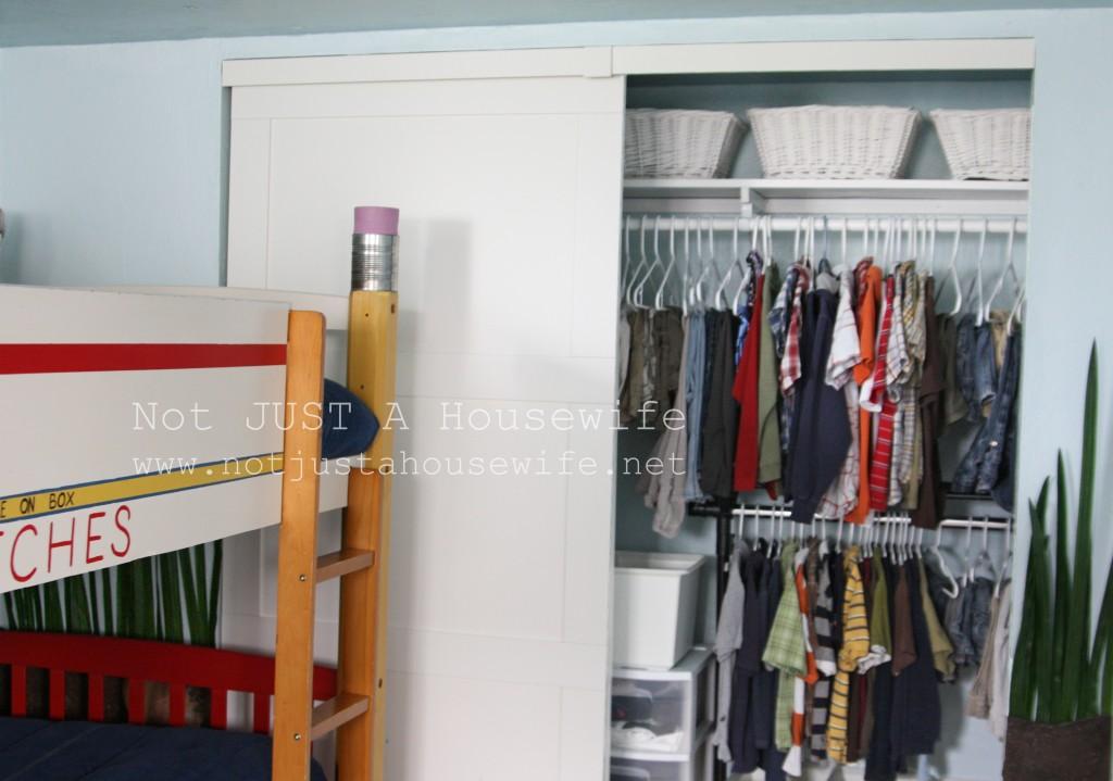 closet boys room 1024x719 Closet Organization