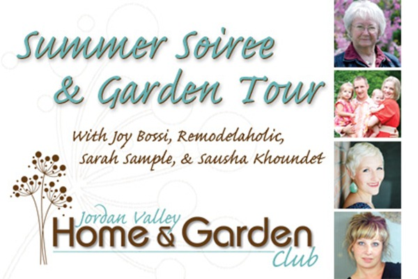 Summer Soiree thumb  Home and Garden Club and a Summer Soiree....eek!