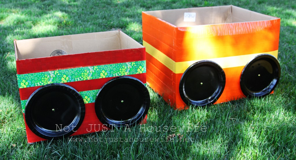 cardboard cars for movie 1024x555 3M Projector Review and $150 Target Giftcard Giveaway!