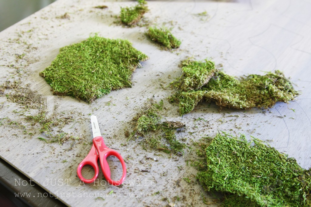 moss art cutting moss 1024x682 Moss Art (and why failures are sometimes a good thing)