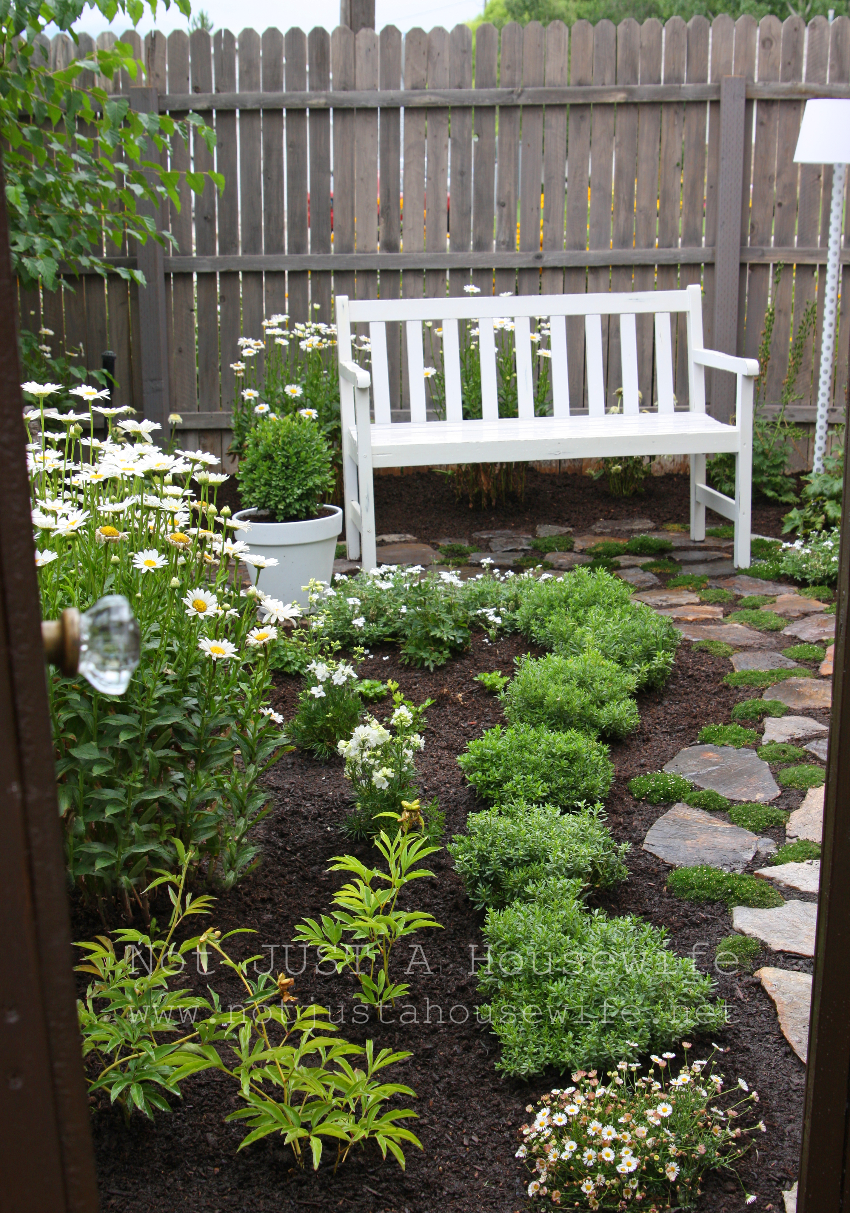 Welcome to my secret garden…. | Not JUST A Housewife