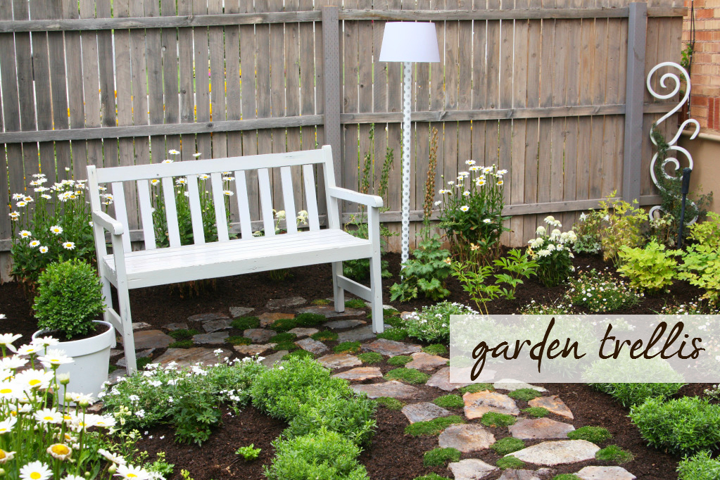 garden trellis Trellis {from my Secret Garden}