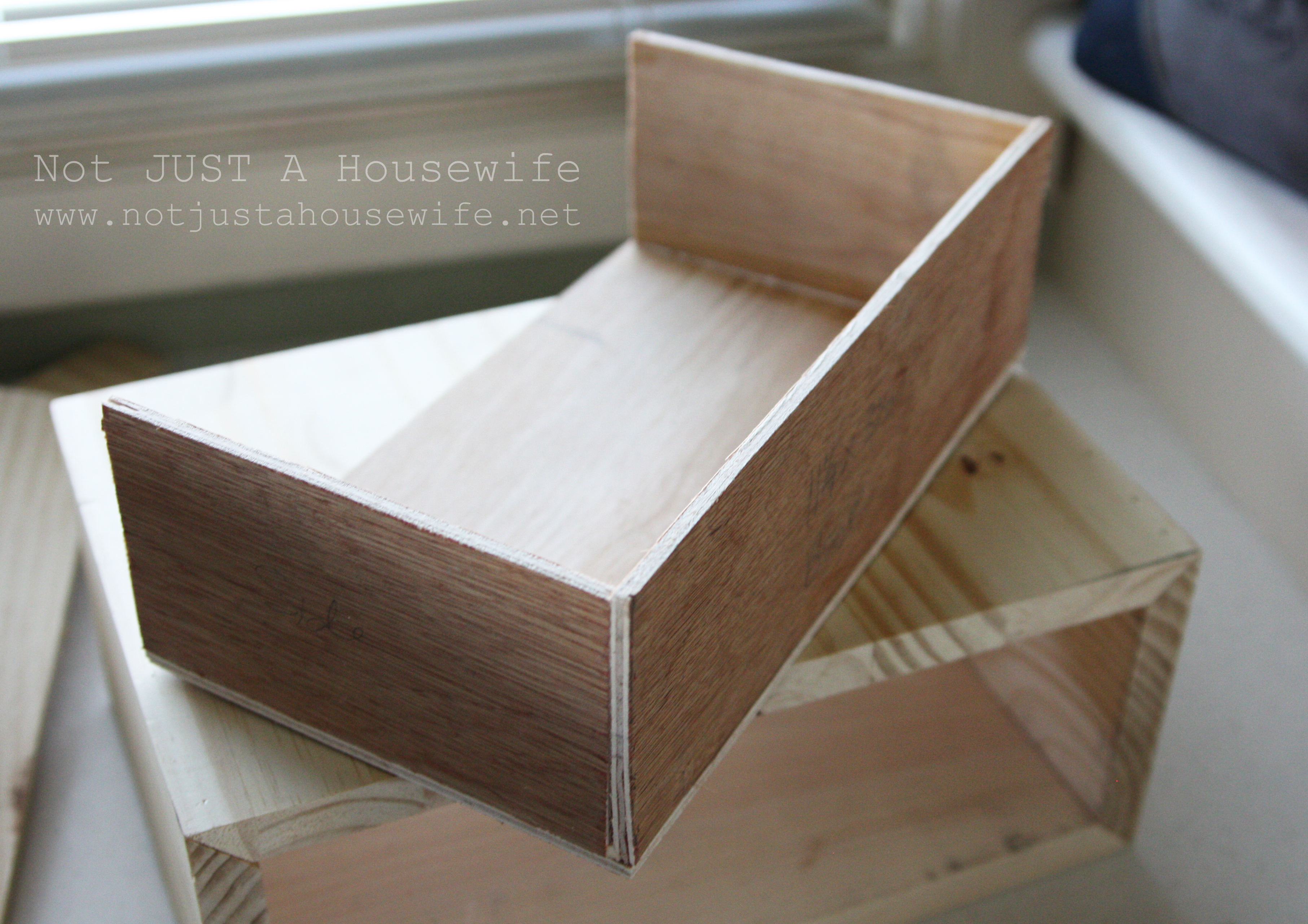 Floating side table not just a housewife for Diy plywood dresser