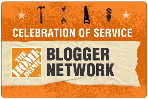 Home Depot COS Blogger Badge Celebration of Service with Home Depot