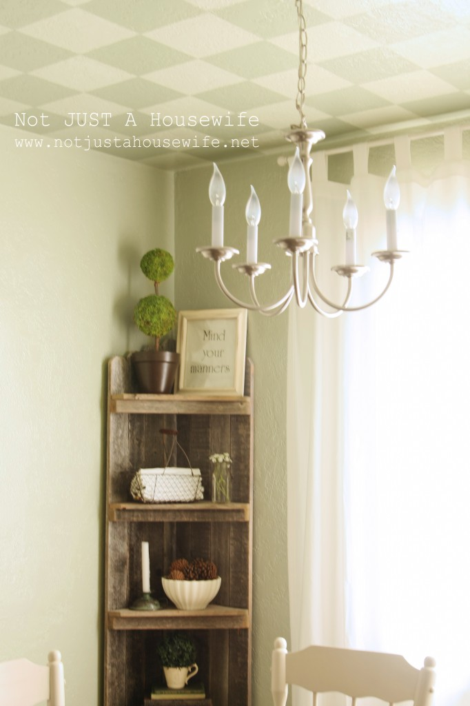 corner shelf angle 682x1024 Dining Room Update {French Country}