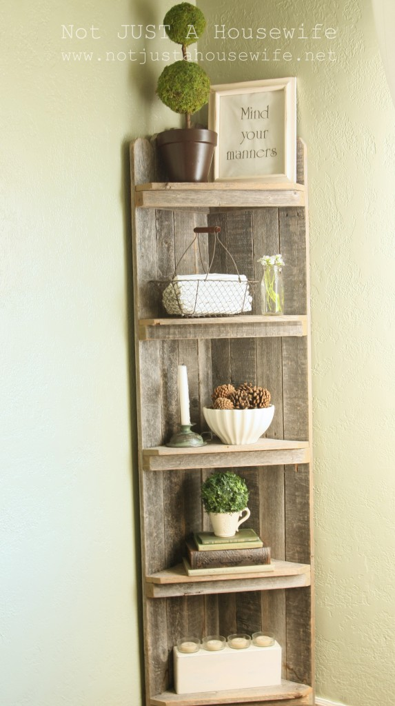 corner shelf edited 1 573x1024 Dining Room Update {French Country}
