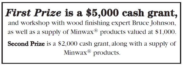 minwax prize Do Good With Wood {Minwax}