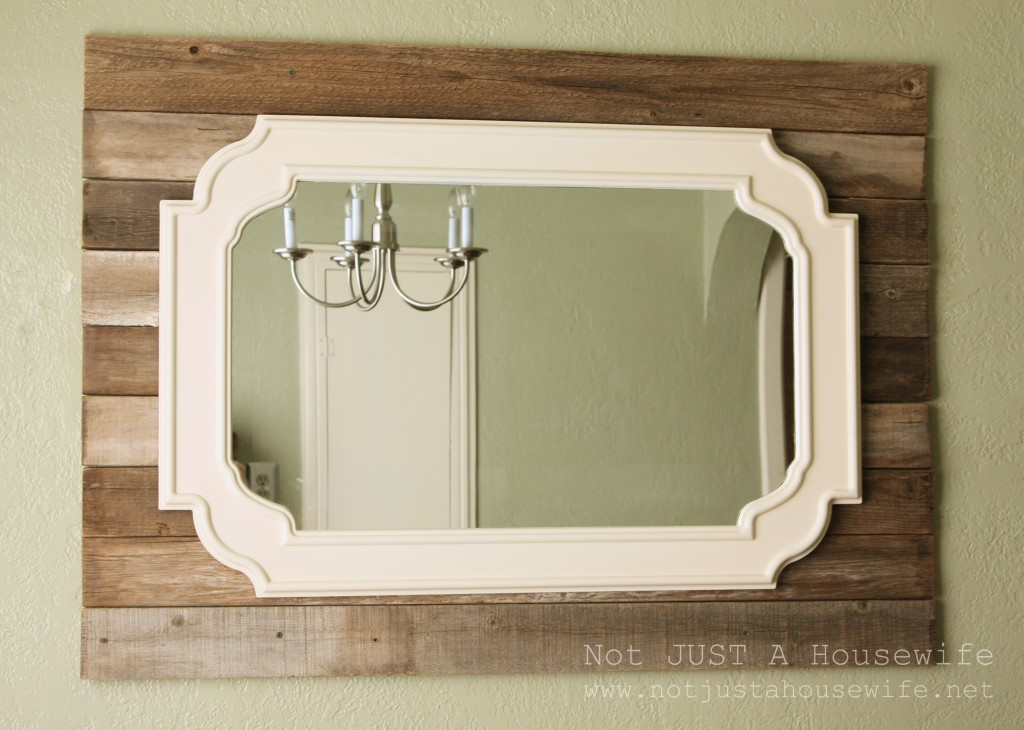 mirror 1024x730 Dining Room Update {French Country}