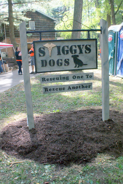 stiggys dogs sign Rescuing One To Rescue Another {Celebration of Service}
