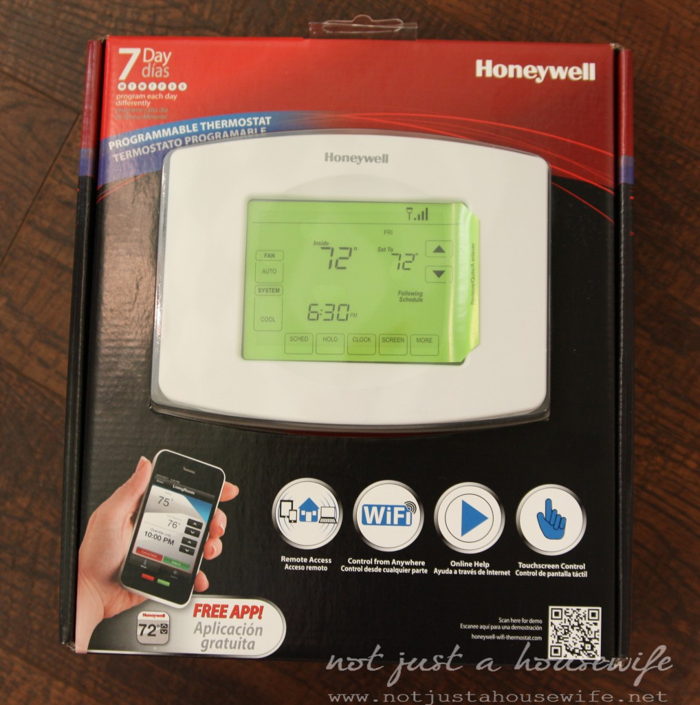 wifi programmable thermostat 1018x1024 A Green Giveaway! {Wifi Programmable Thermostat}