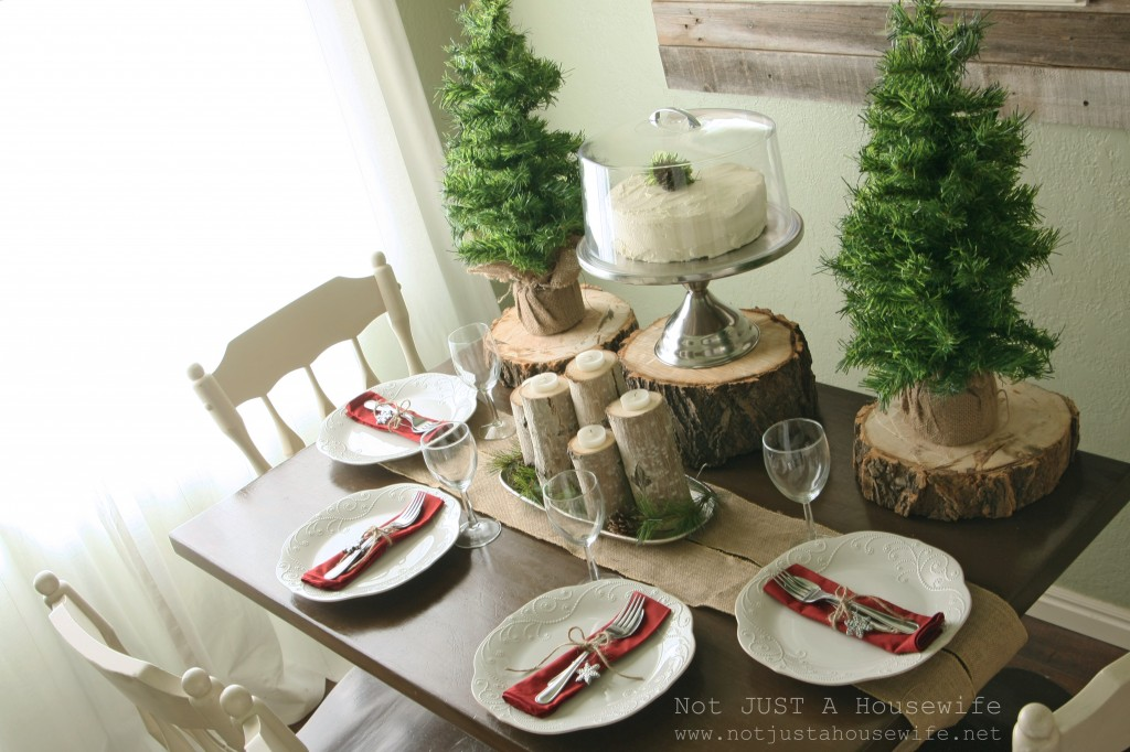 christmas wayfair tablescape edited 1 1024x682 Holiday Tablescapes {Thanksgiving &Christmas}