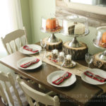 Holiday Tablescapes {Thanksgiving &Christmas}