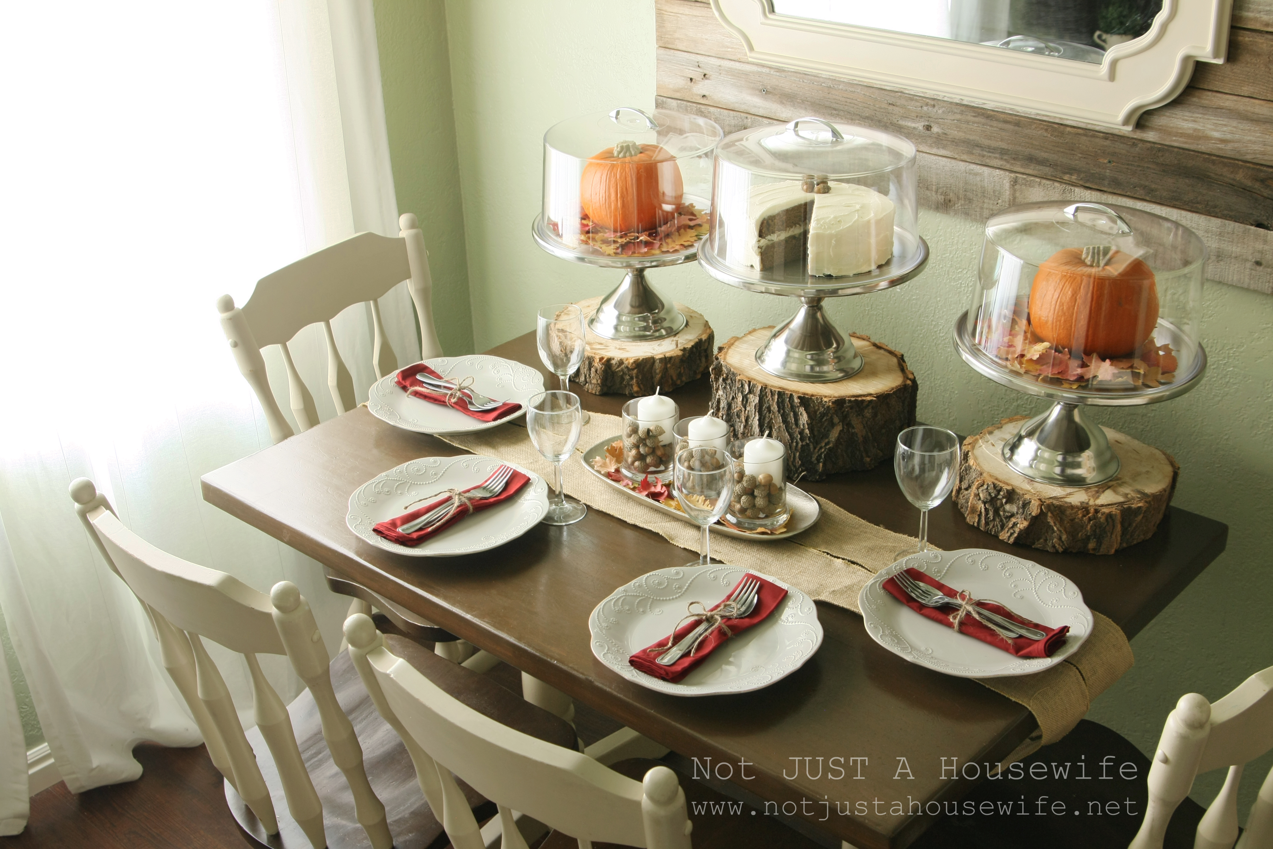 holiday tablescapes thanksgiving christmas not just a housewife