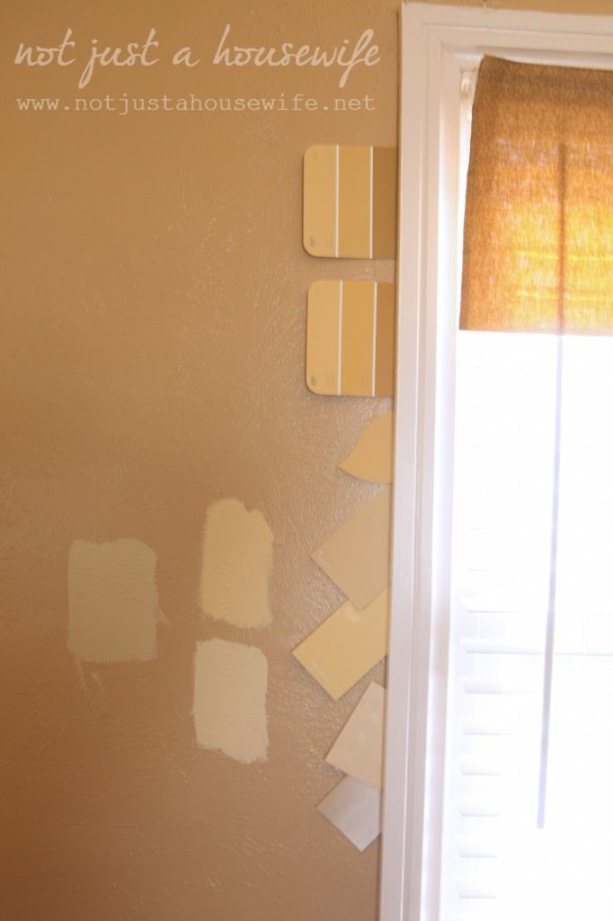 wall color yellow 682x1024 {Sneak Peek} My plans for my family room makeover!!!!!