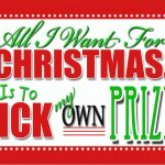 All I want for Christmas….. is to pick my own prize! GIVEAWAY!!!!!