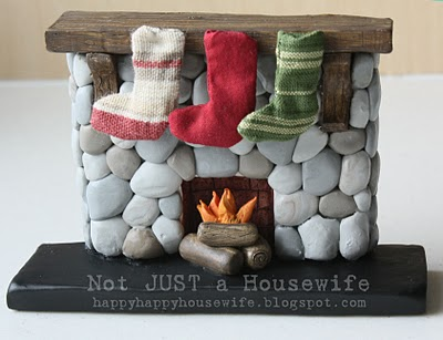 fireplace tradition Holiday Traditions Linky Party!