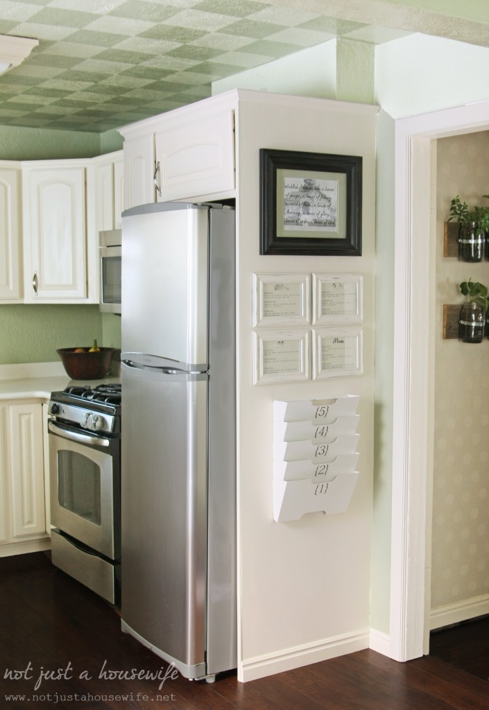 kitchen organization 705x1024 Kitchen Command Center