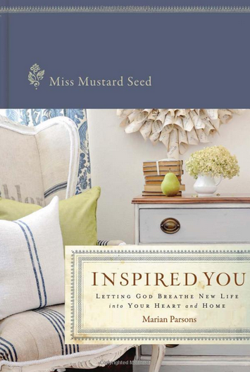 miss mustard seed book Winners of the Inspired You Giveaway {and other business}